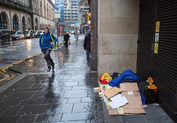 Glasgow's homeless problem has been growing