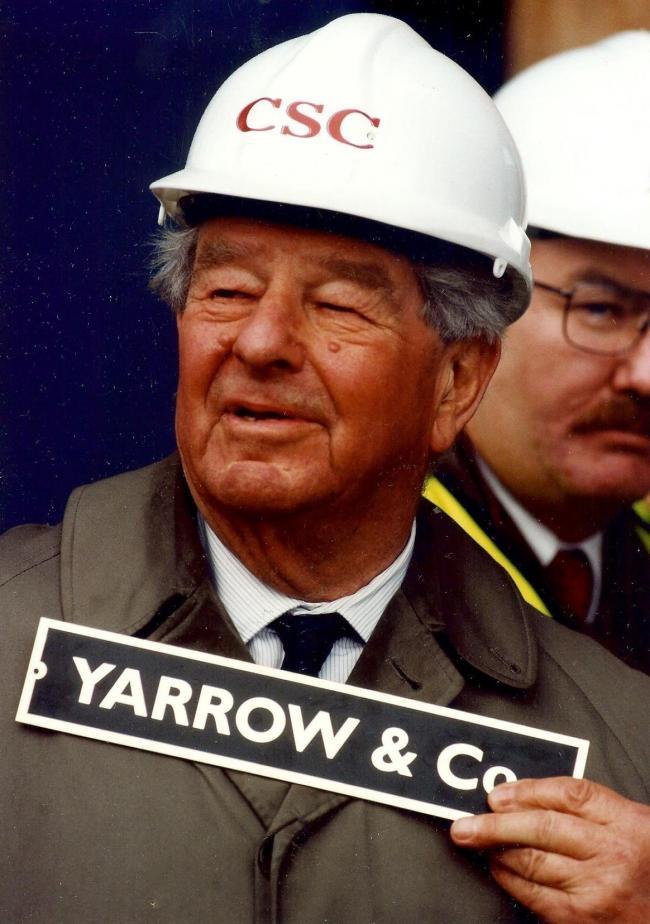 Obituary - Sir Eric Yarrow, shipbuilder, businessman and
