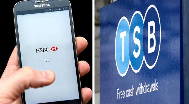 Customer fury as TSB and HSBC latest to be hit by digital banking