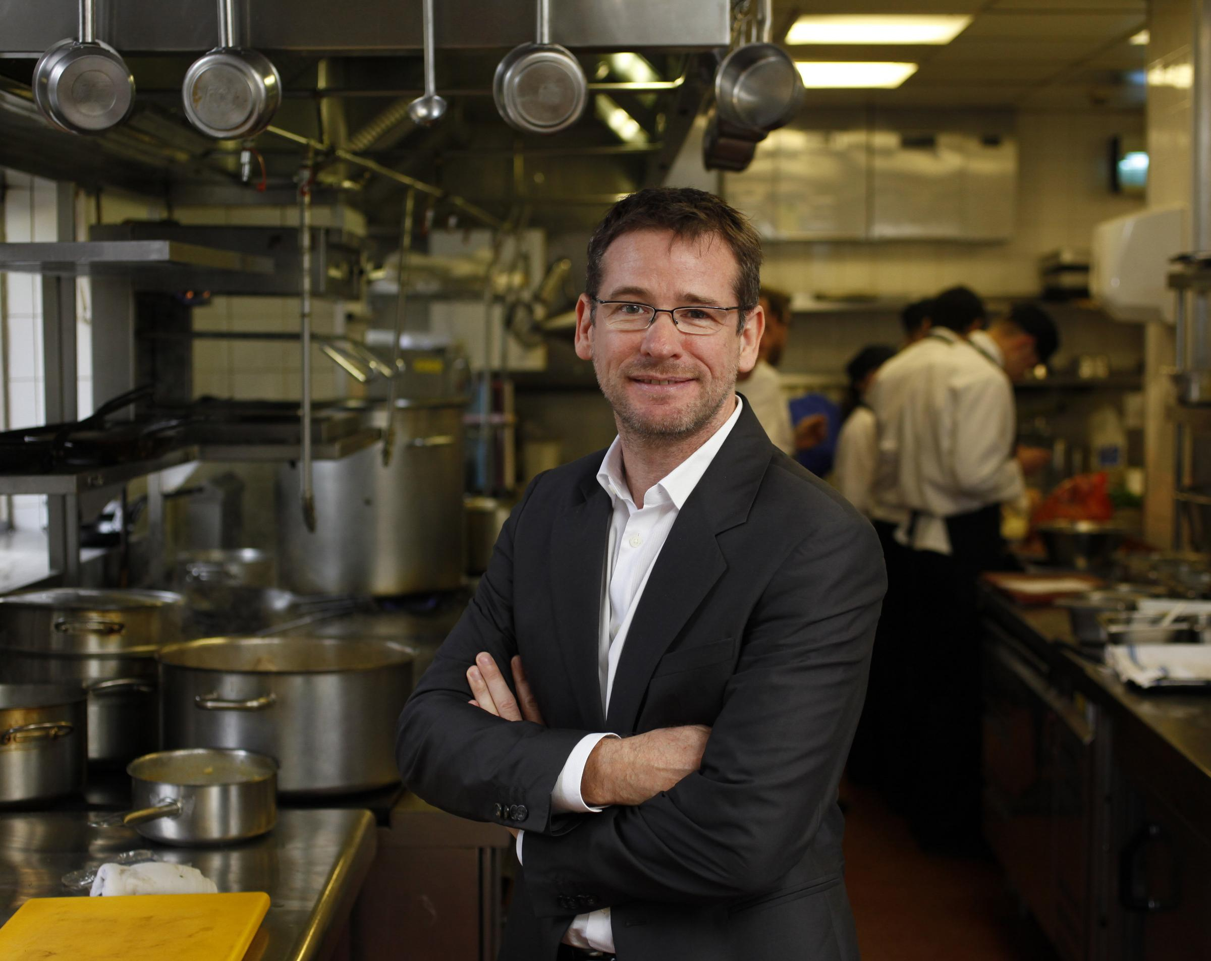 Andrew Fairlie's restaurant at Gleneagles has retained its two-star gong. Picture: Colin Mearns.