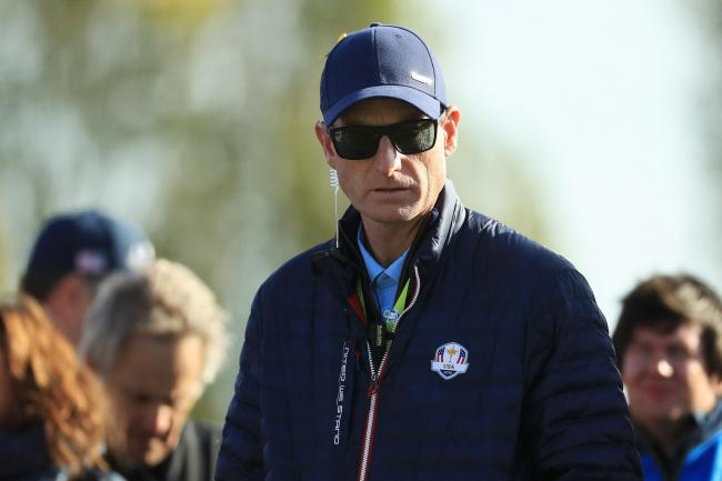 Left to reflect: Jim Furyk has had plenty to ponder in the wake of the US Ryder Cup defeat (Picture: Getty)