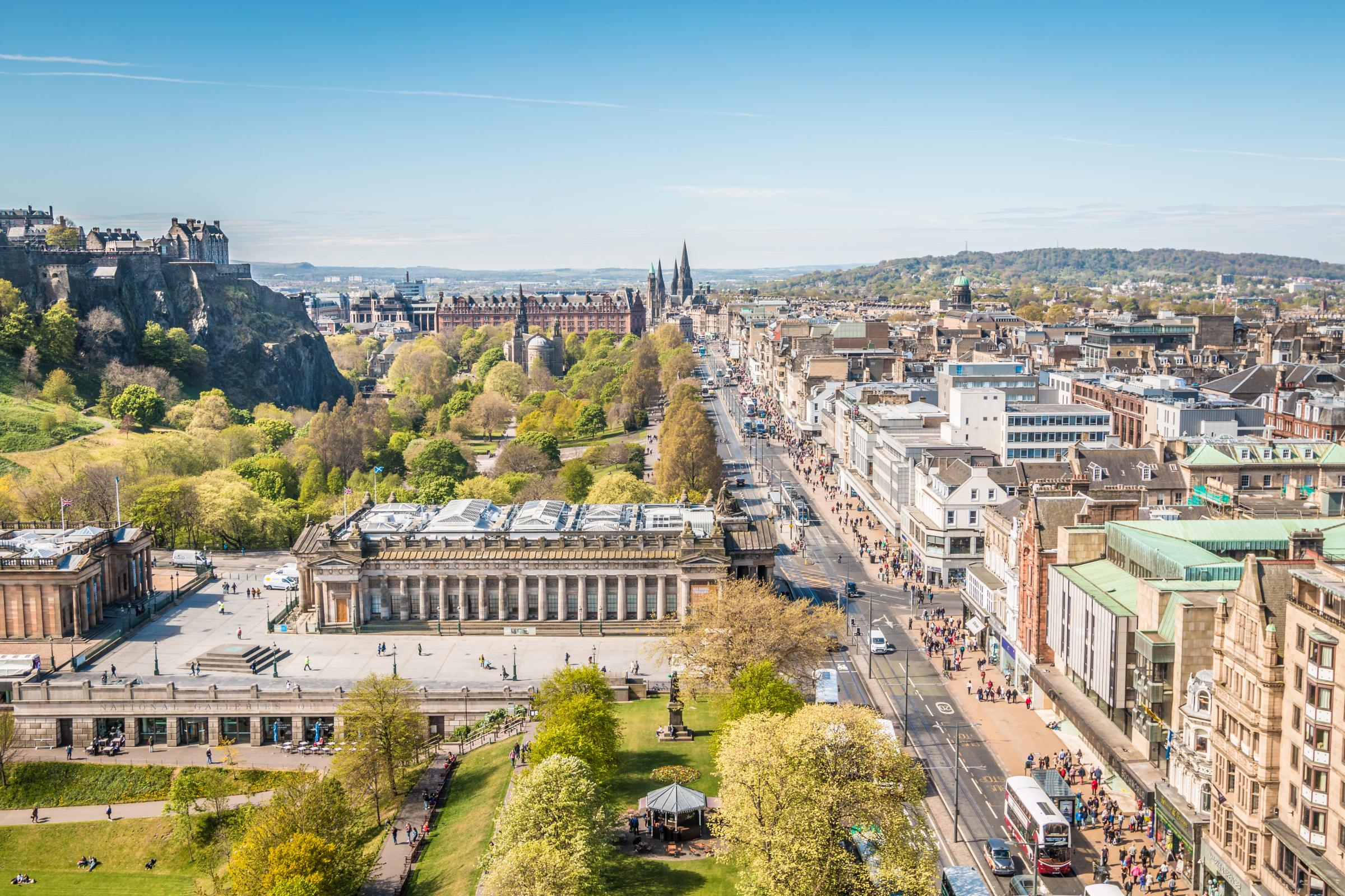 Scotland's world-leading record on climate action is backed by a thriving cleantech sector and compact cities – such as Edinburgh – are  ideal engines of change