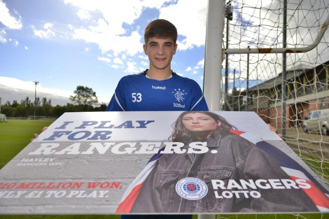 Cammy Palmer promotes the Rangers Youth Development Company