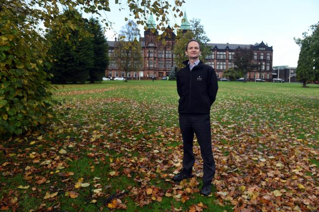 Jordanhill Park project manager David Sutherland