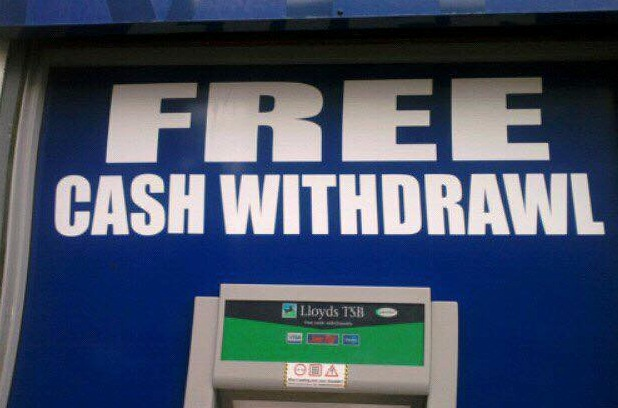 Marie Murray wonders if this cash machine in Finnieston was actually meant for Texas