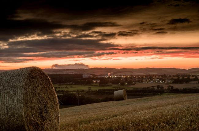 Cupar from Hill of Tarvit, across the Howe of Fife. Picture: Shutterstock