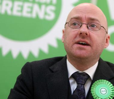 Scottish Greens' co-convener Patrick Harvie