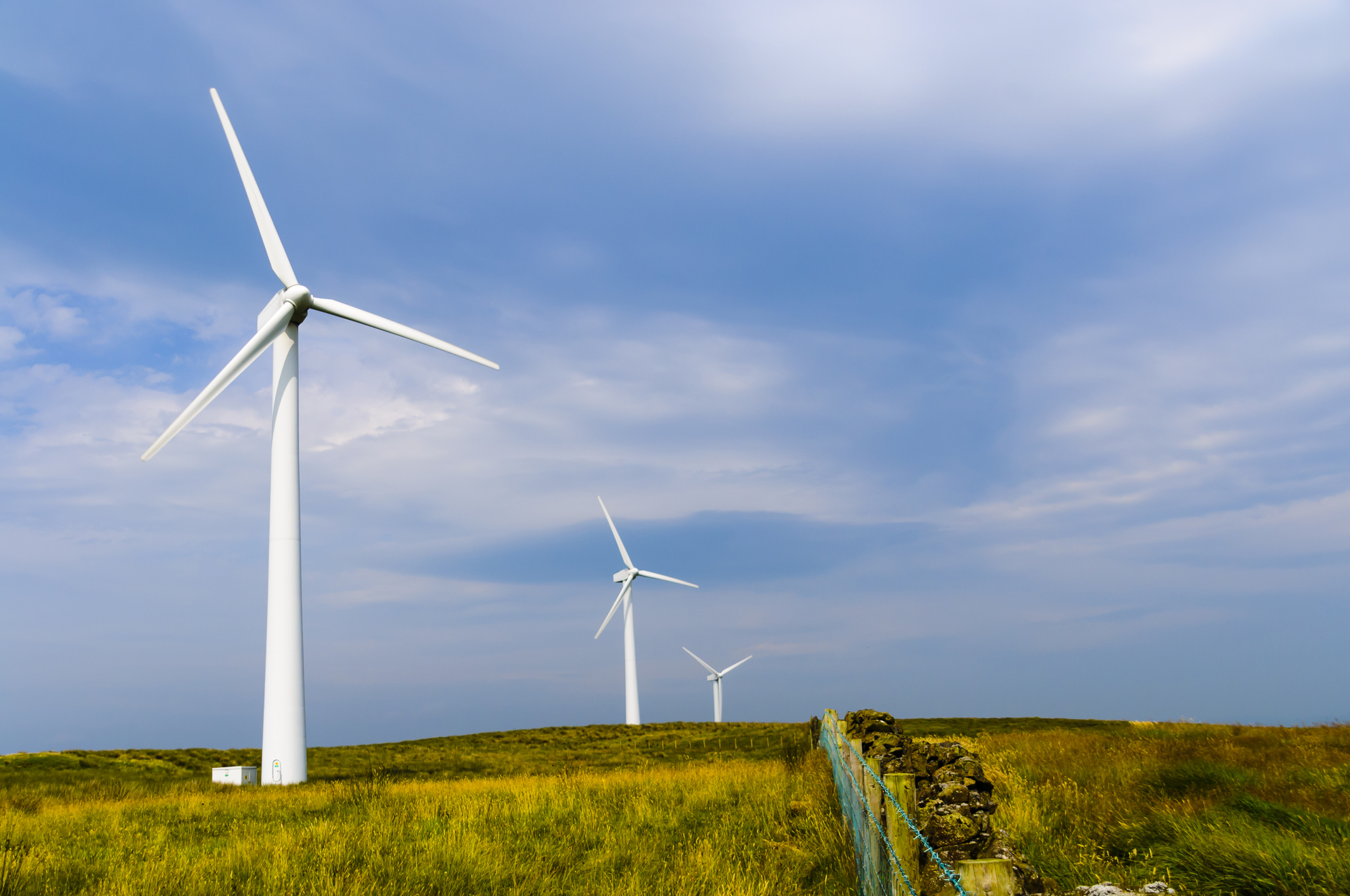 Wind turbines in Scotland are set to increase in size