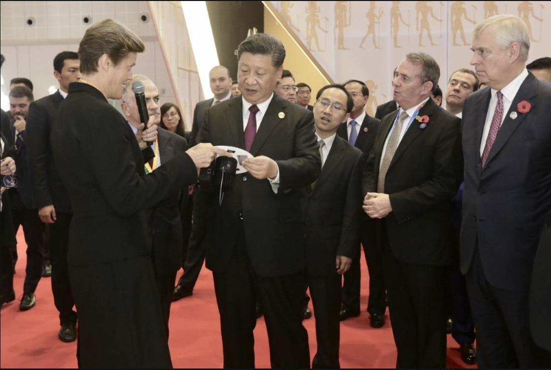 Scots LiFi tech presented to President Xi Jinping of China as exemplar