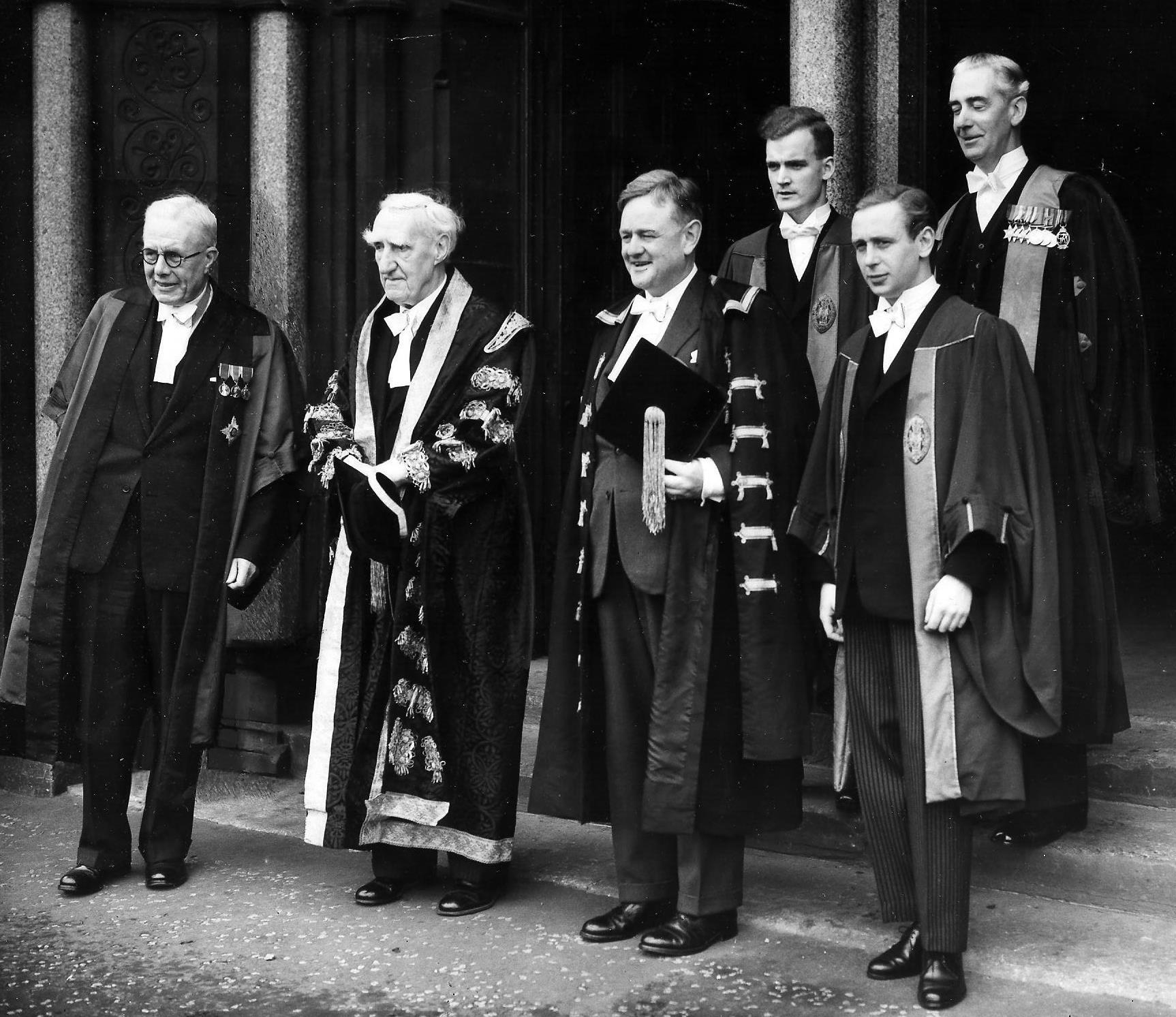 THOSE WERE THE DAYS: 1960: Tight security for Hailsham's installation as rector at Glasgow University
