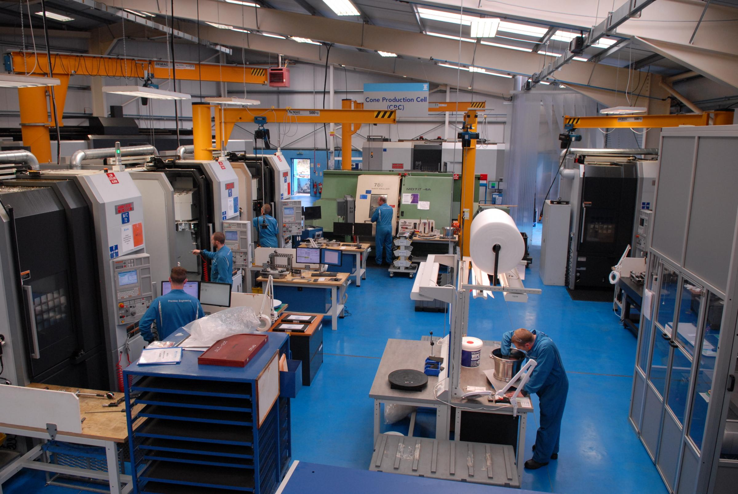 Record order for family-owned precision engineer in Castlemilk