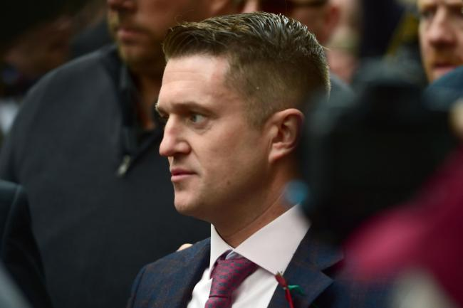 Tommy Robinson has Facebook and Instagram pages removed over 'organised hate'