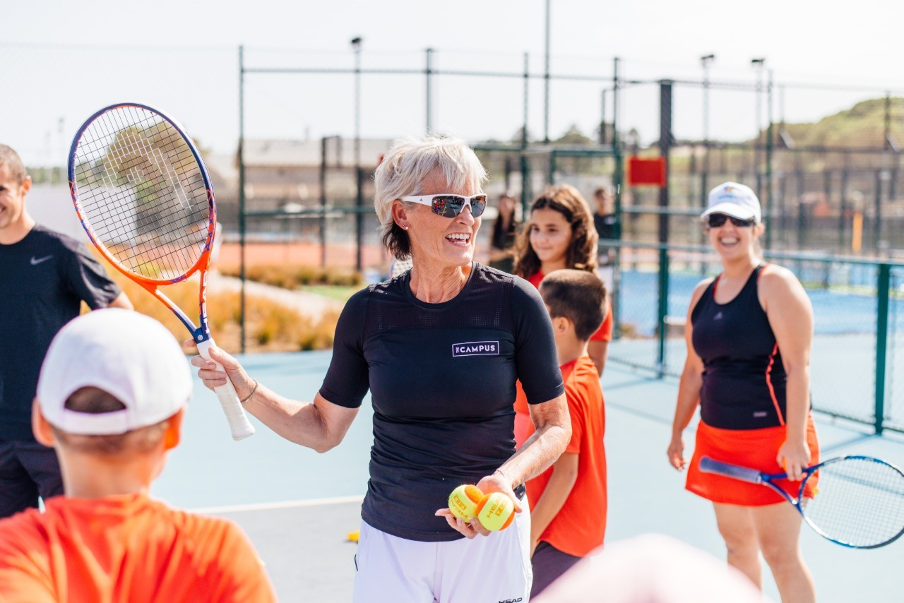 Judy Murray, couresy of The Campus, Quinta do Logo, Portugal