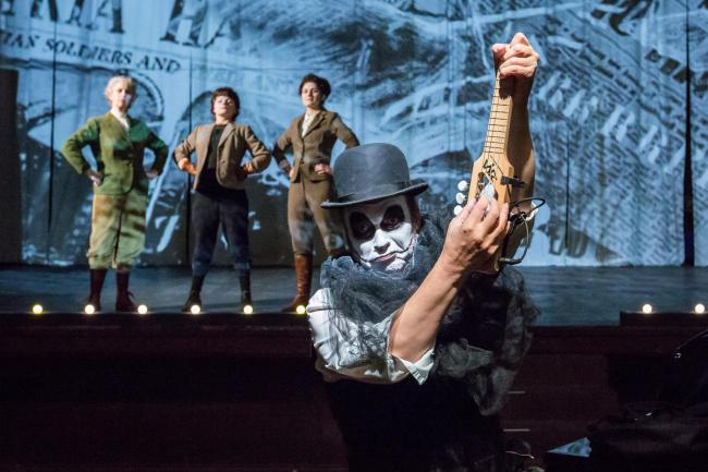 Martyn Jacques of The Tiger Lillies appearing in The Last Days of Mankind at Leith Theatre copy