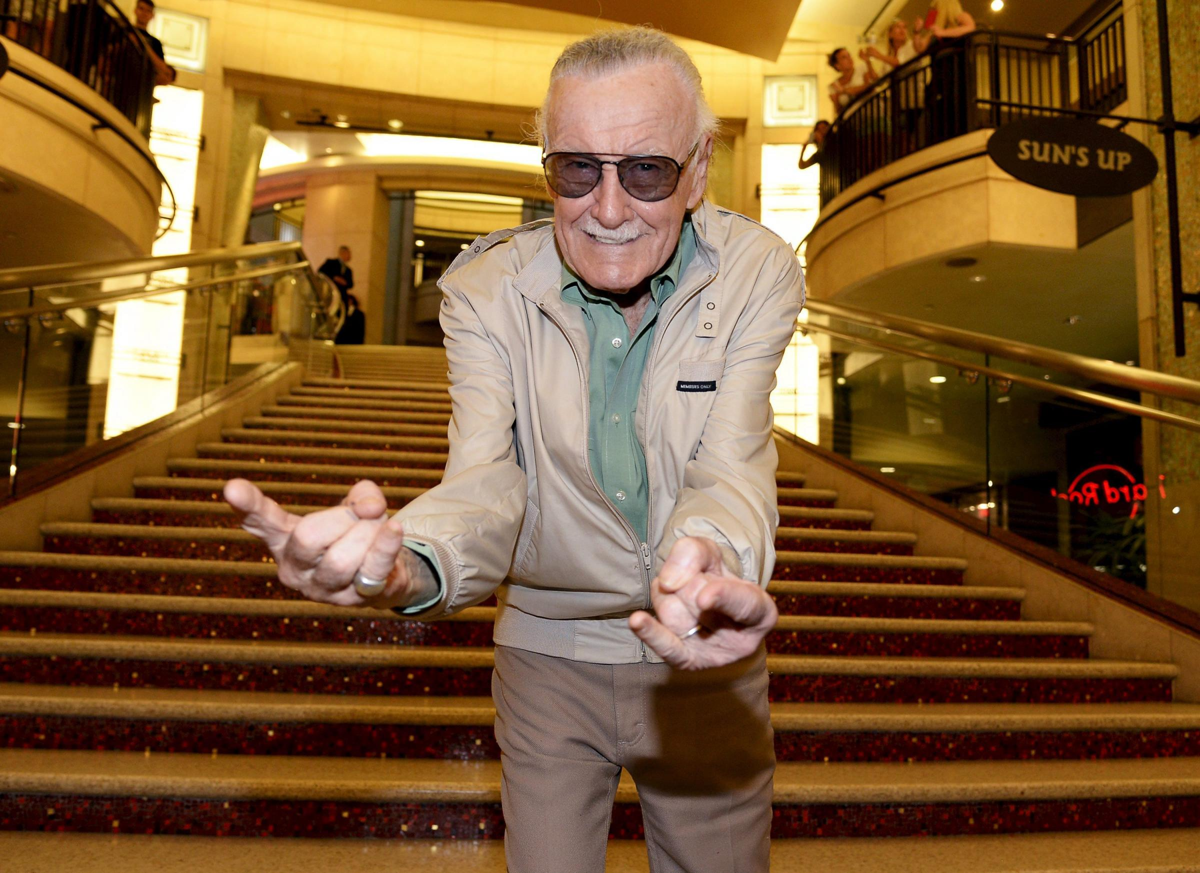 Marvel comic book legend Stan Lee dies aged 95