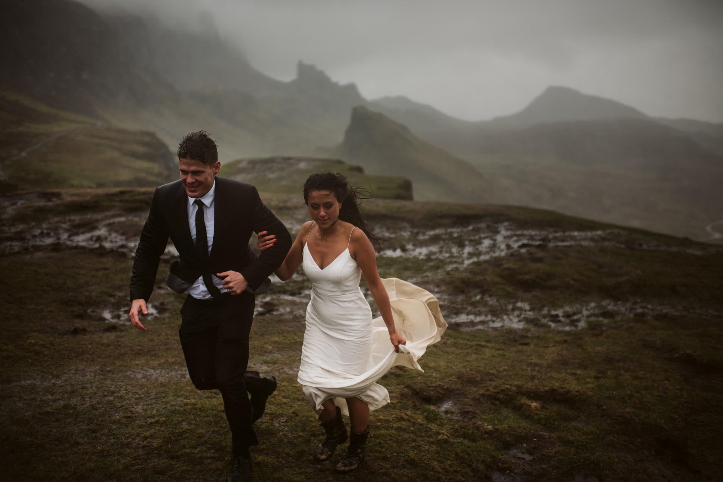 US couple misjudge Skye weather and get caught up in wedding storm | HeraldScotland