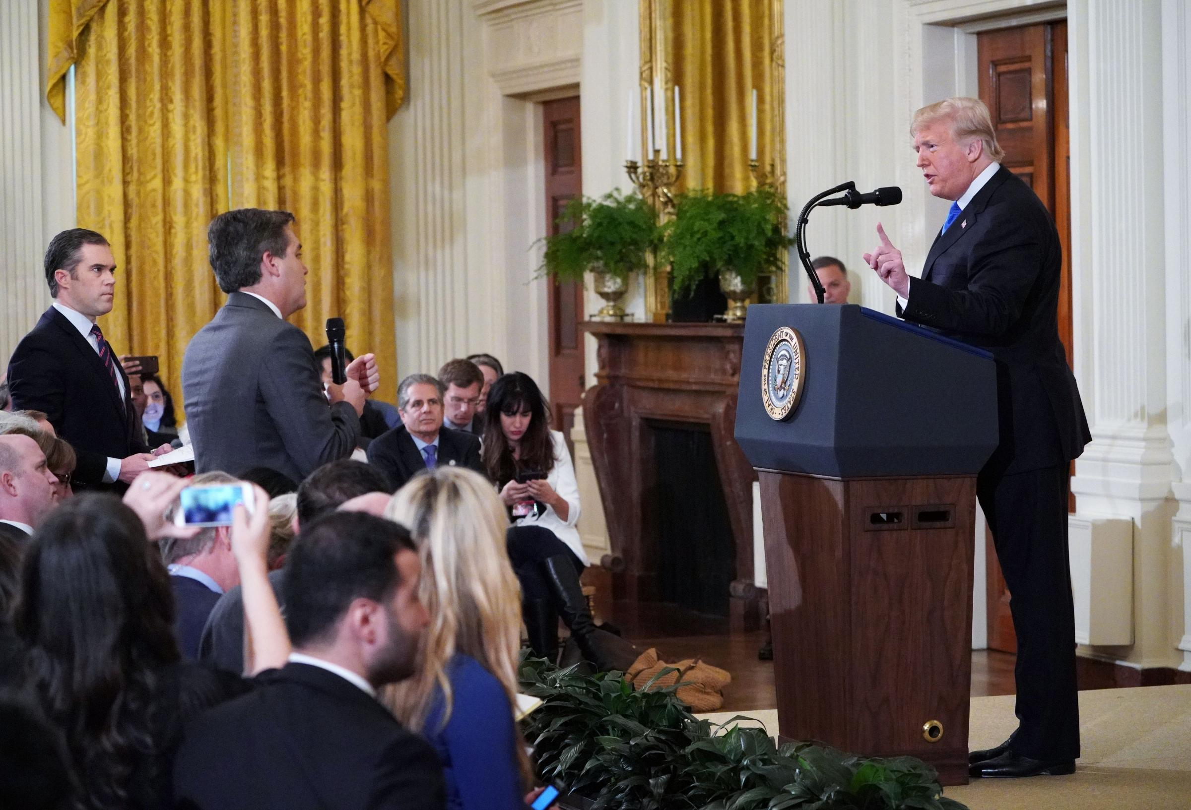 CNN sues Donald Trump for barring Jim Acosta from White House press corps