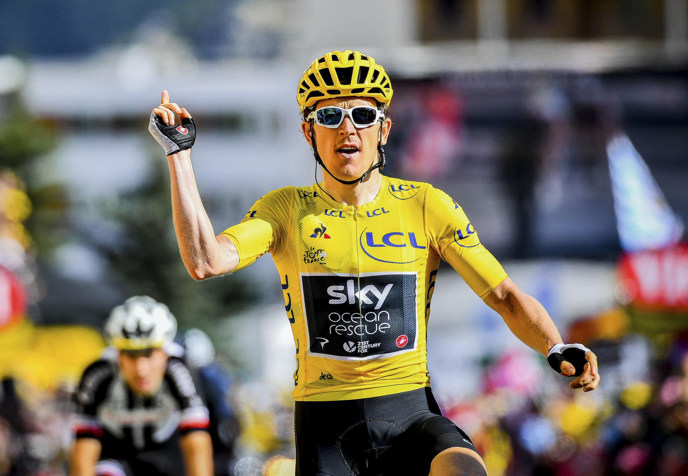Geraint Thomas making most of savouring Tour triumph