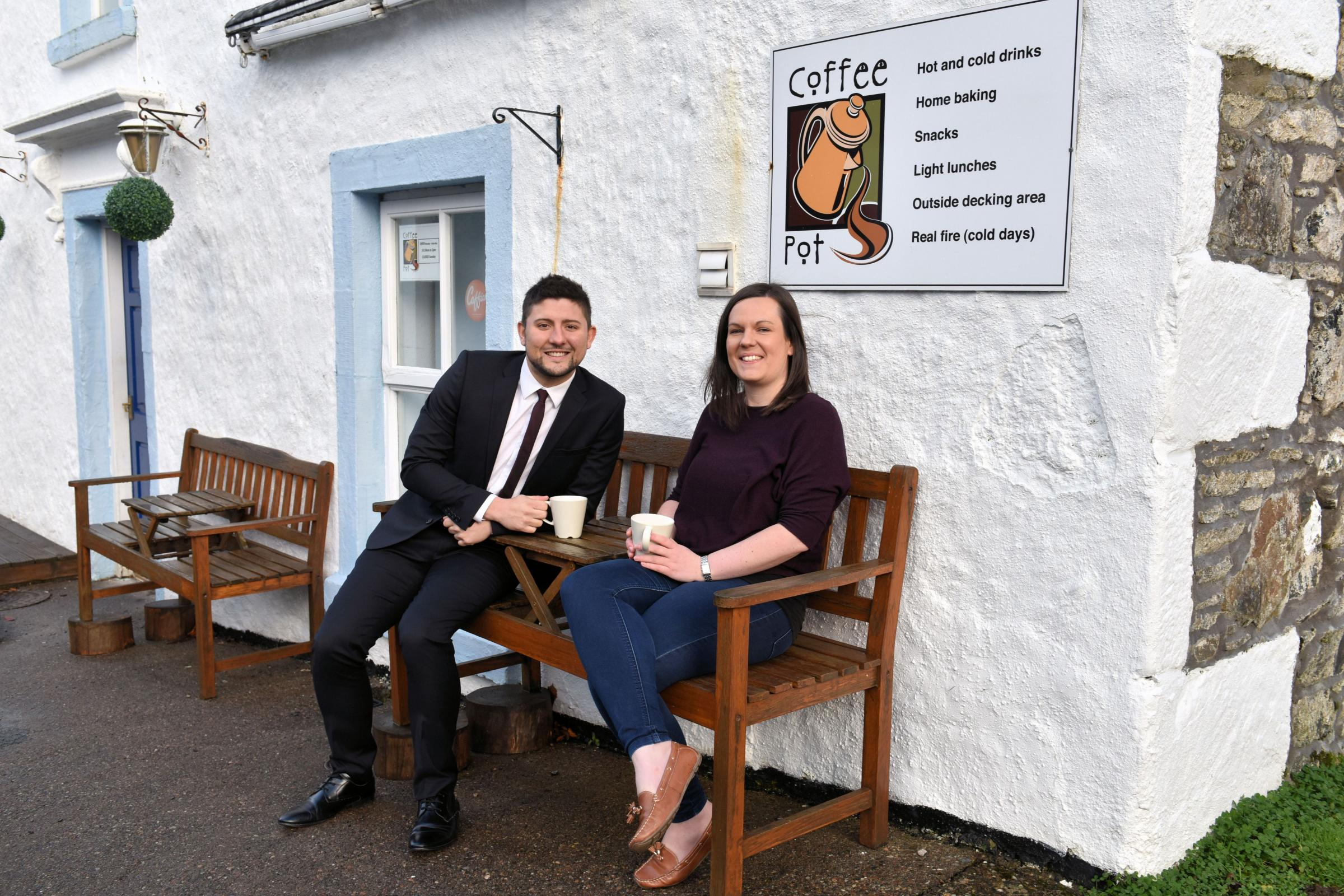 Former banker buys cafe and apartments on Isle of Mull