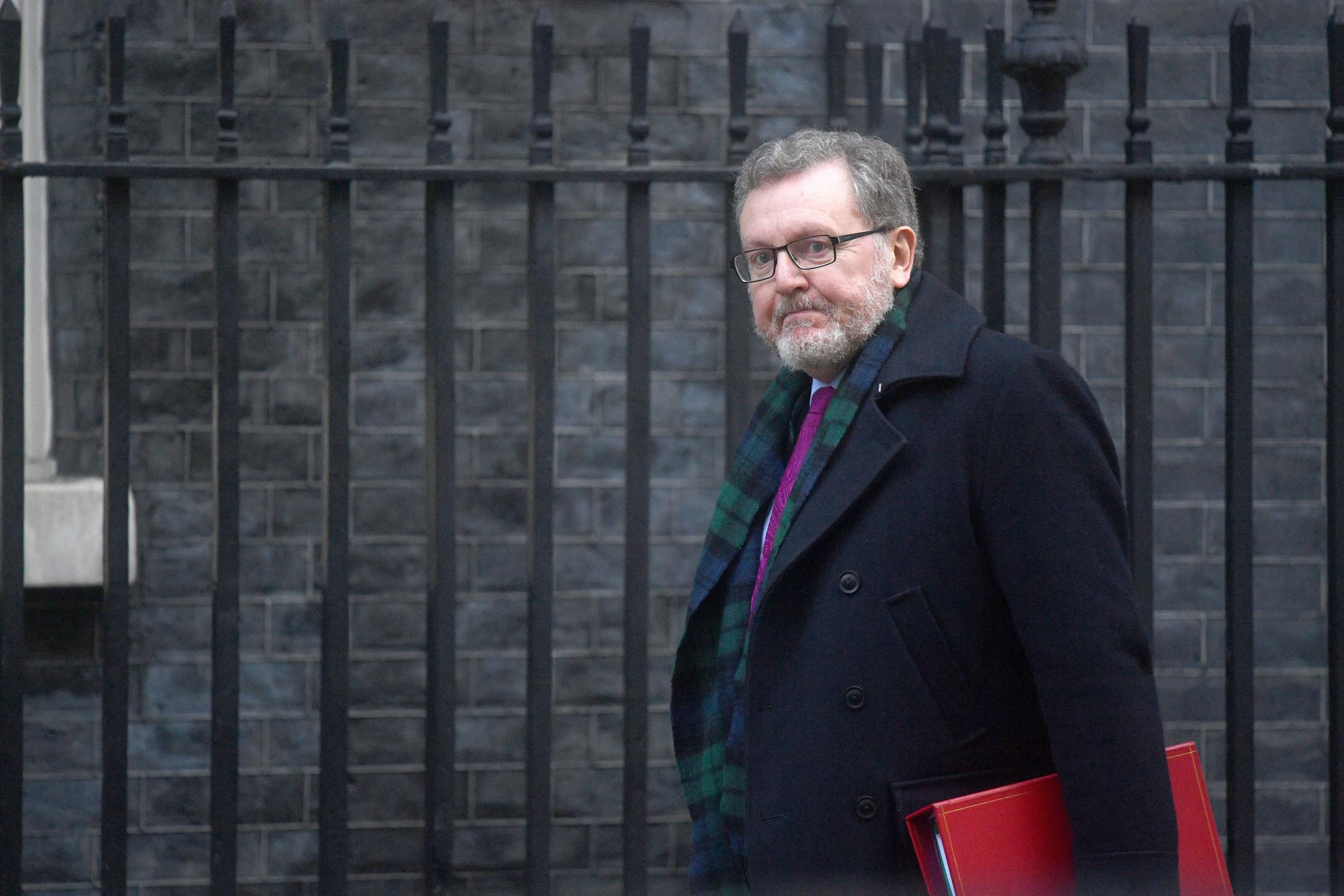 Scottish Secretary David Mundell