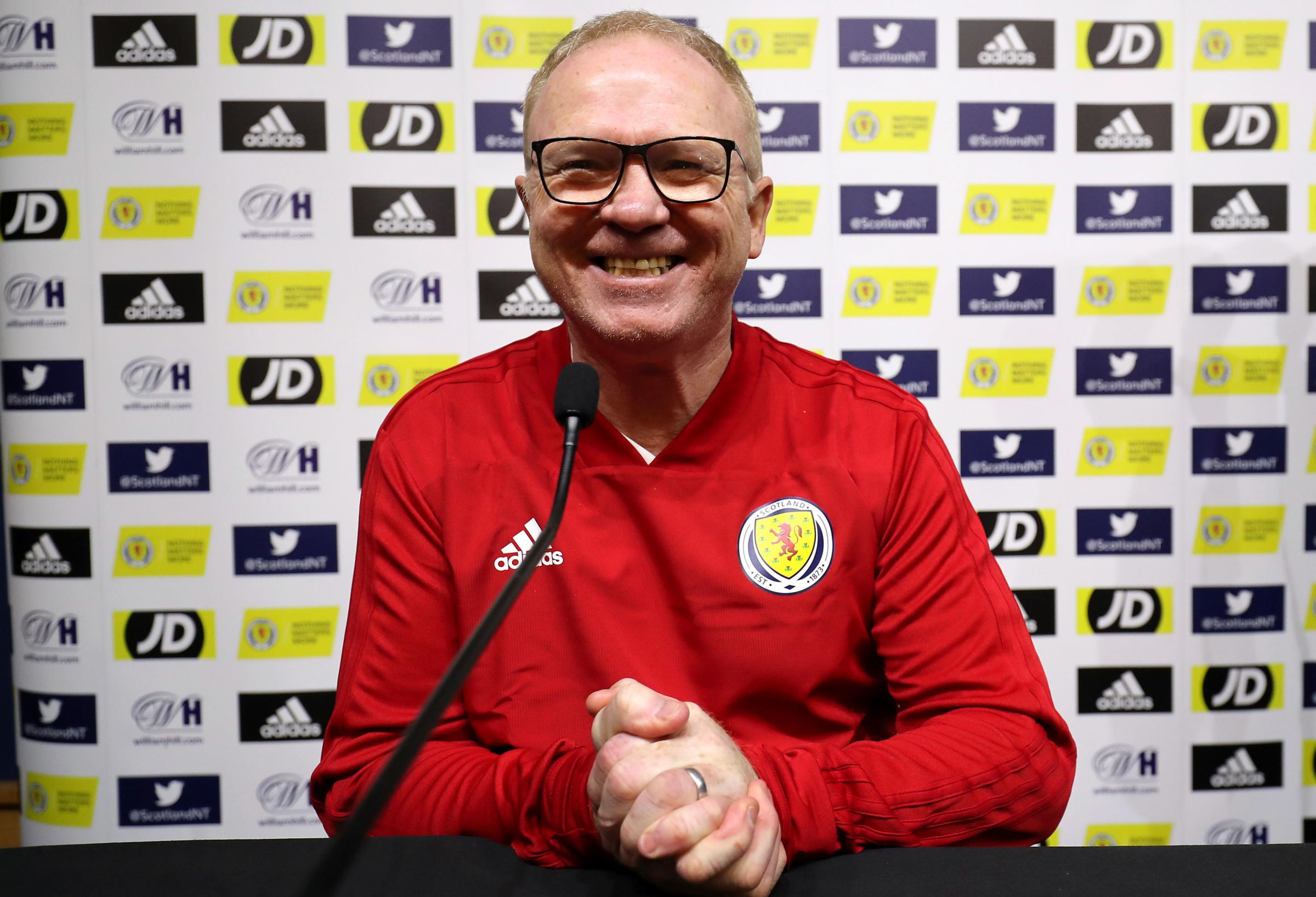 """""""I have a good feeling about this group of Scotland players - I can see the desire to beat Israel in their eyes"""""""