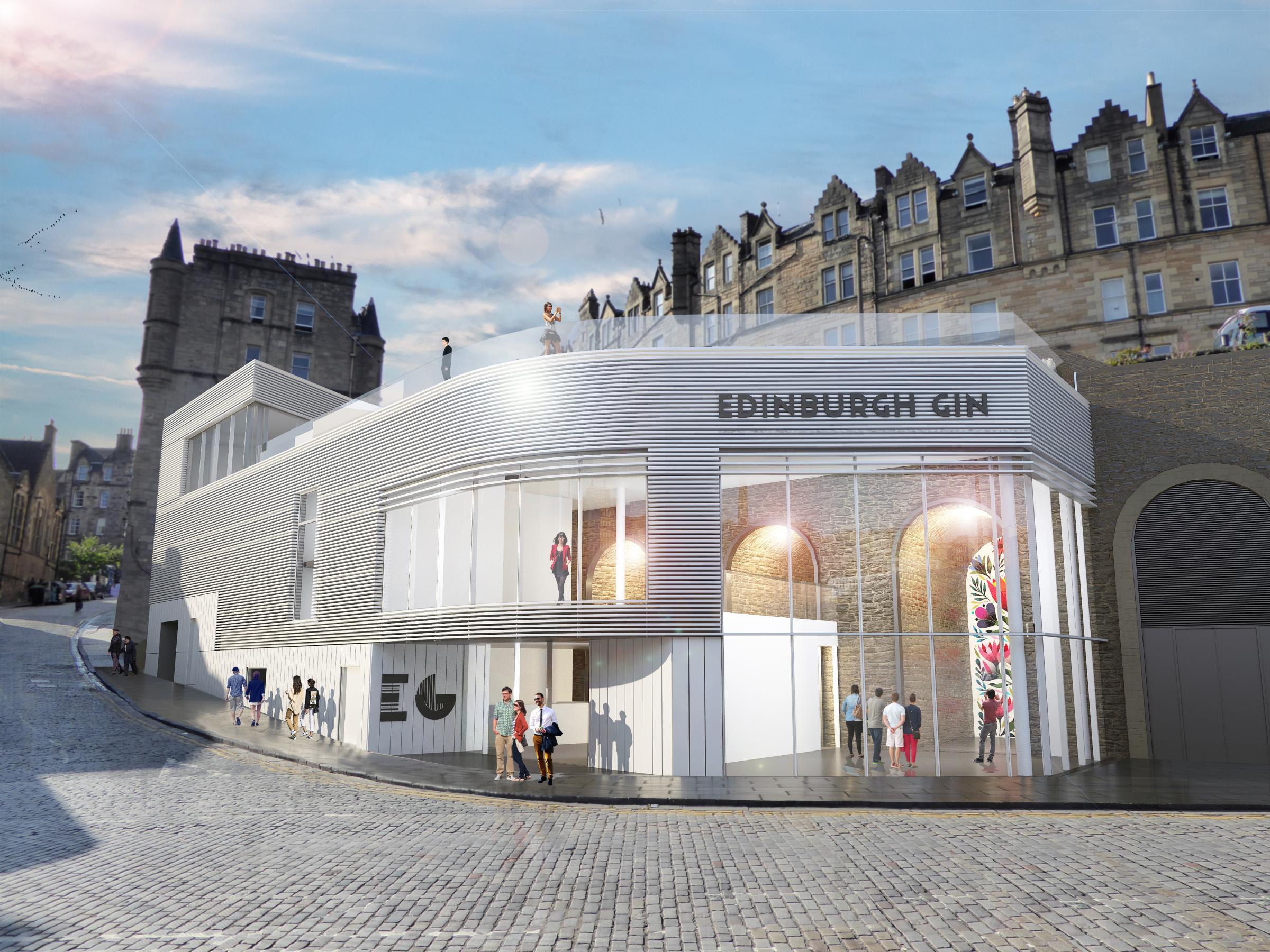 Gin distillery planned for Edinburgh city centre