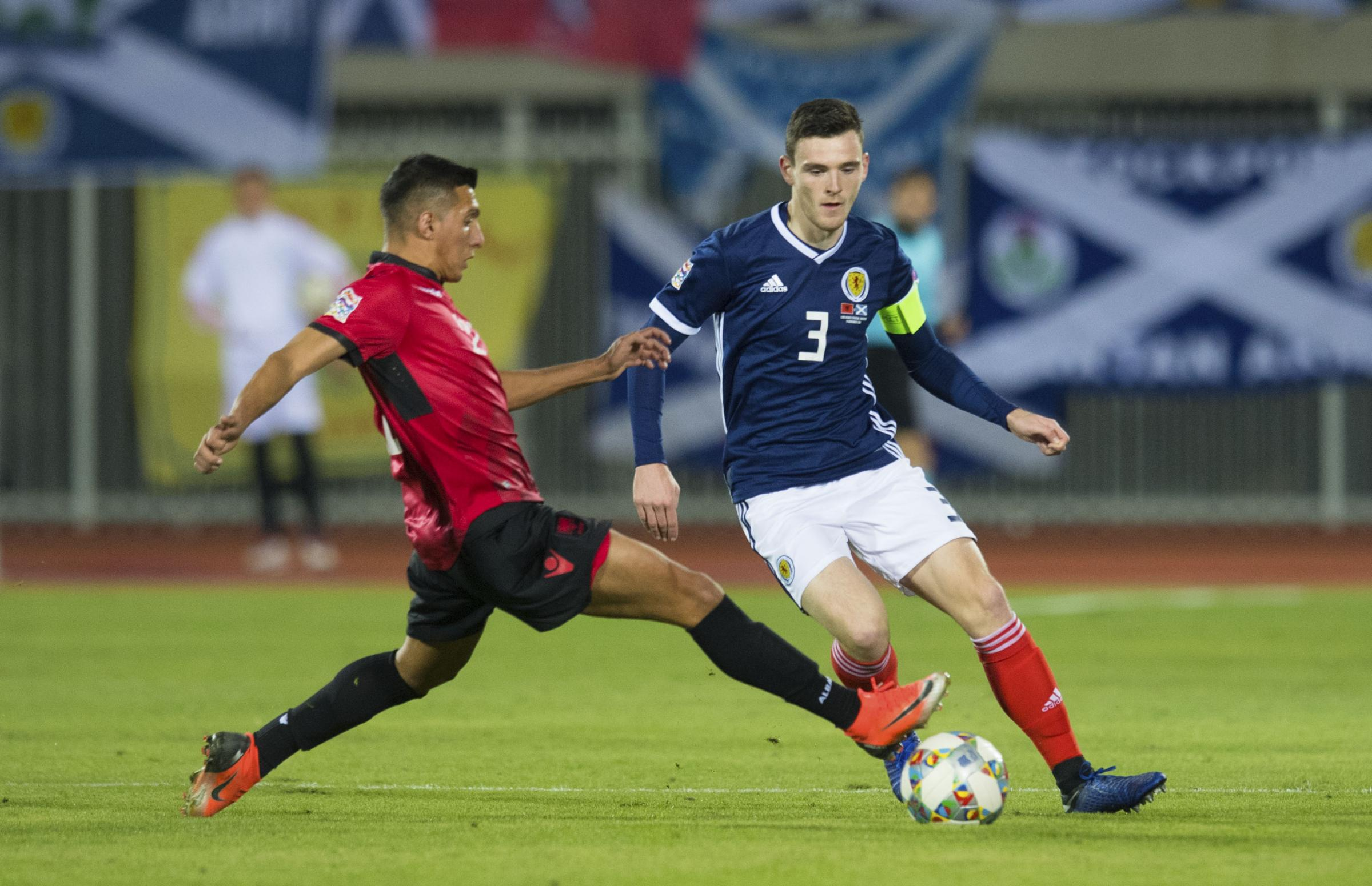 Scotland skipper Andy Robertson out to atone for Haifa heartache - and land Euro 2020 play-off spot