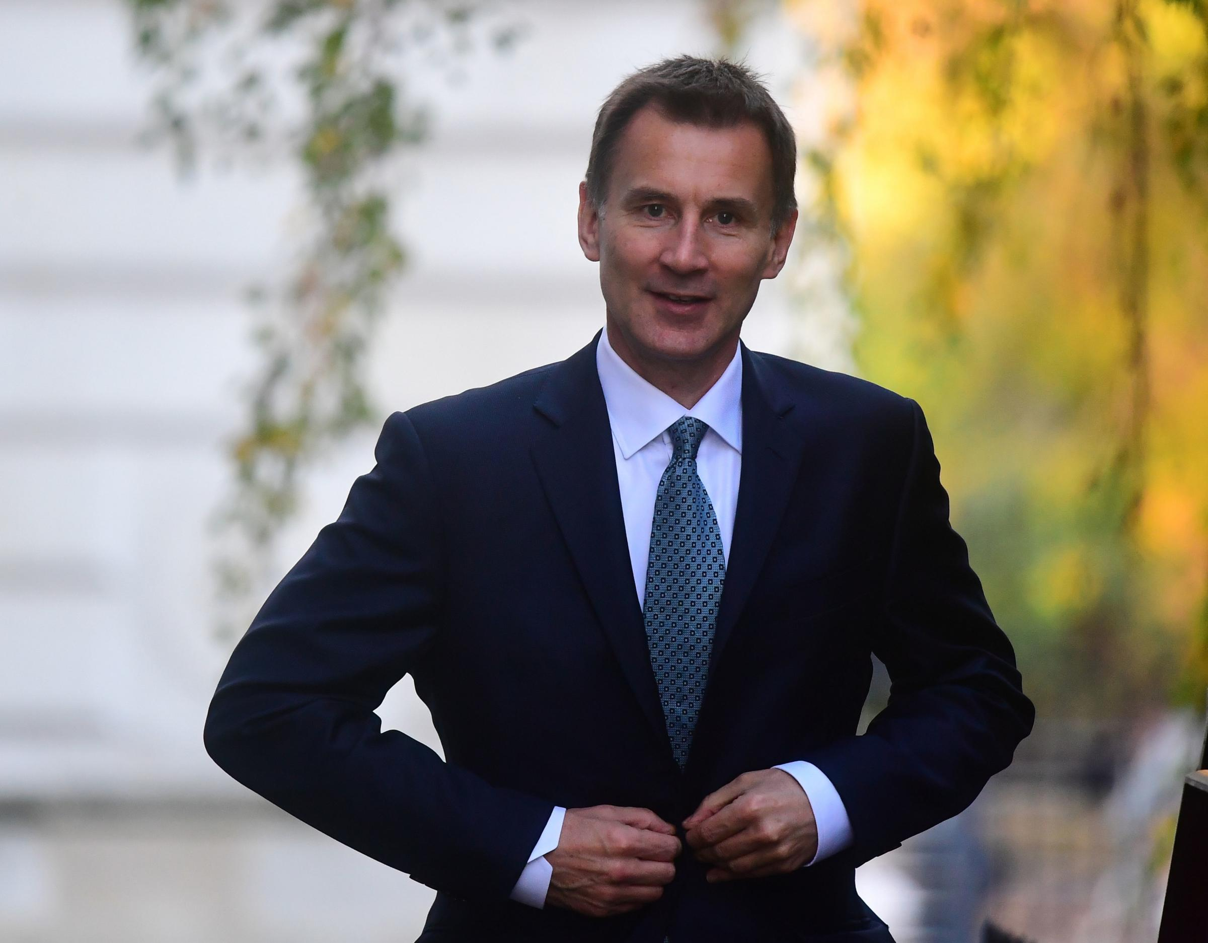 Jeremy Hunt warns Tory rebels they are risking 'most appalling chaos' in trying to topple Theresa May