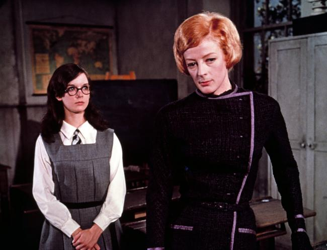 Dame Maggie Smith in her Oscar-winning role as Miss Jean Brodie