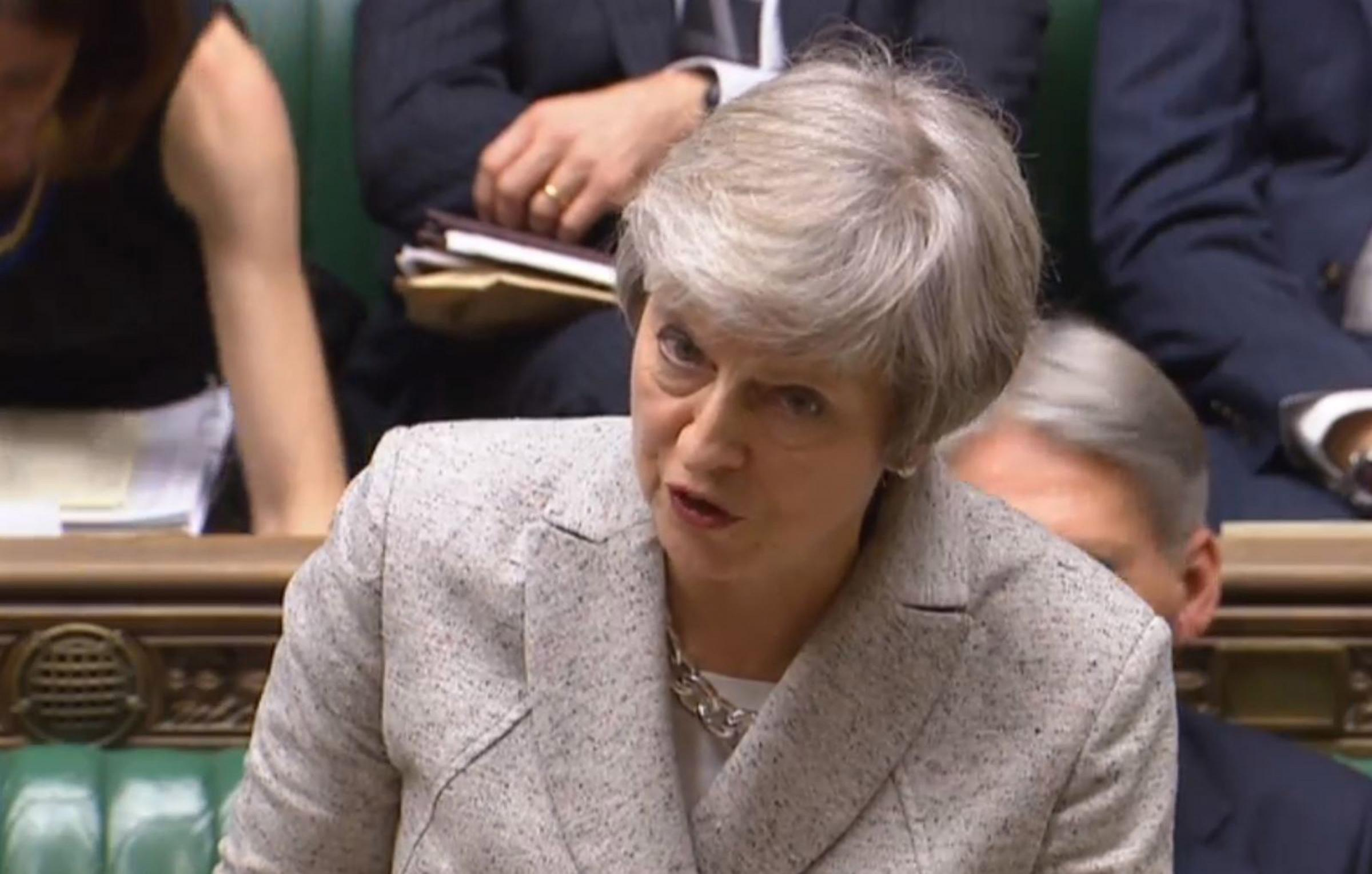 Mission impossible? May told by Tory Brexiteers to