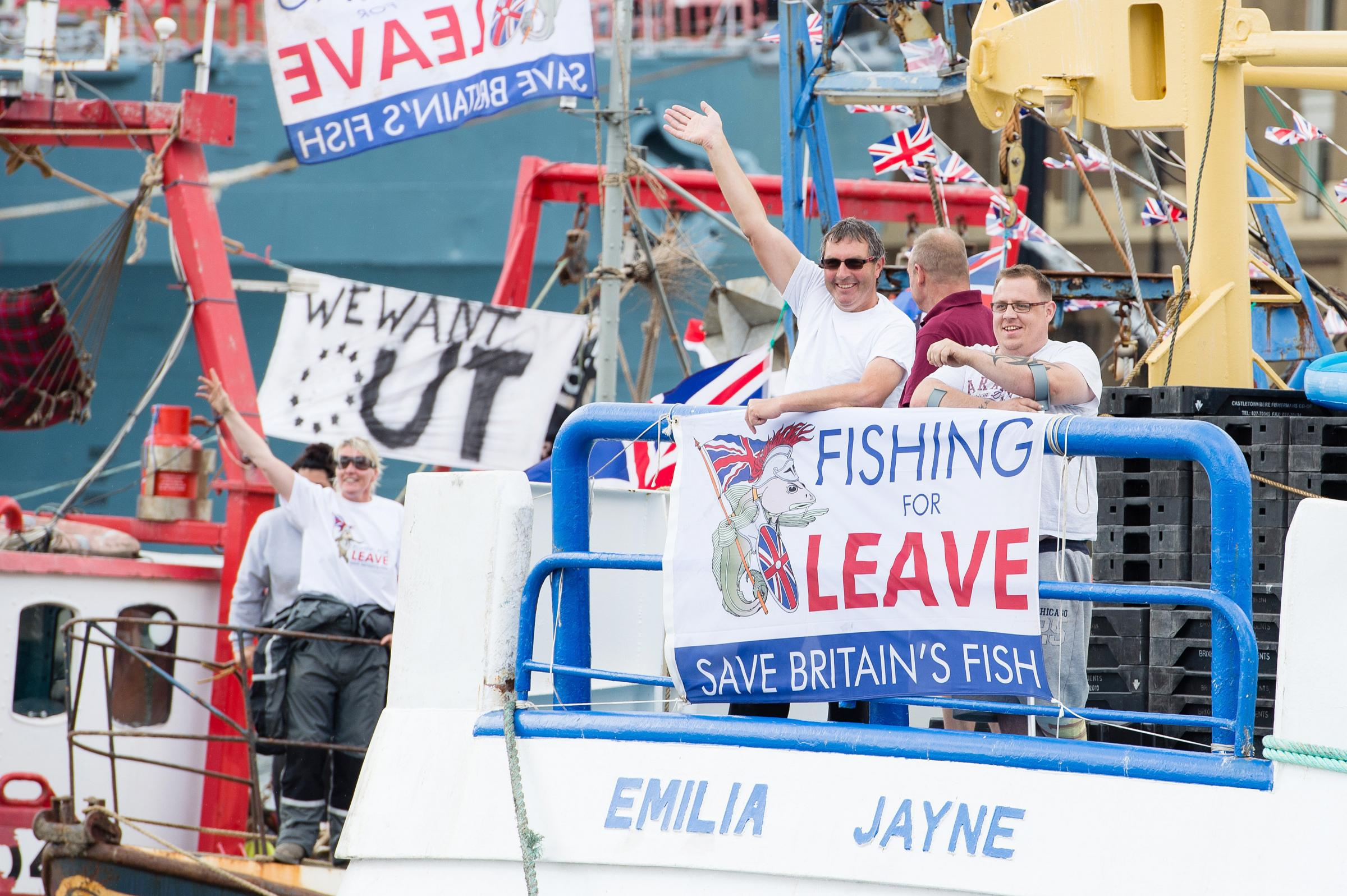 Fishermen have long complained about the EU's Common Fisheries Policy