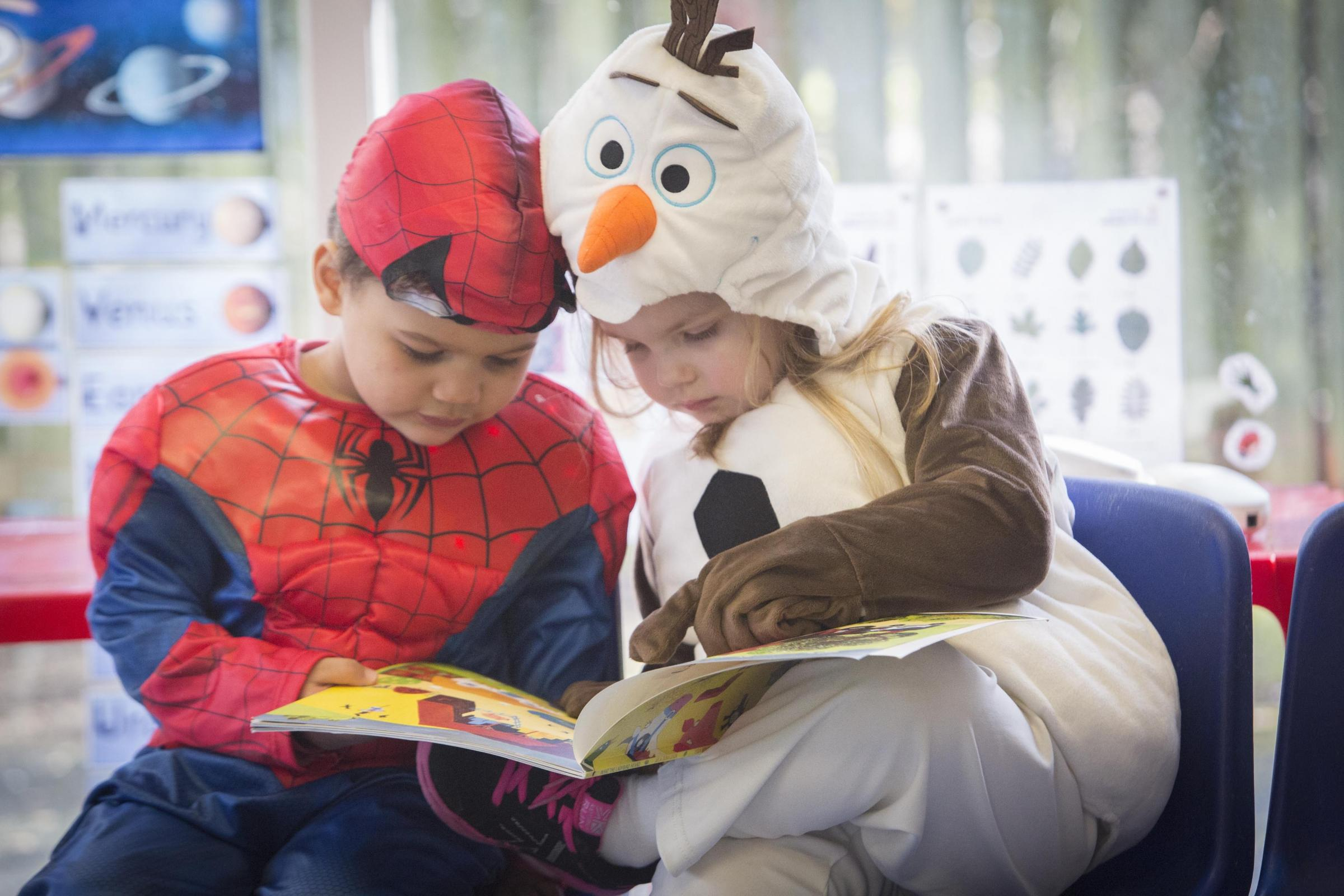 World Book Day helps to encourage children to read