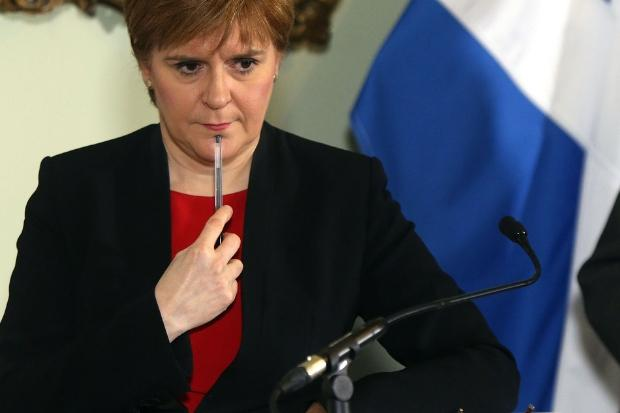 Nicola Sturgeon launched a strong attack on Theresa May's Brexit plan.