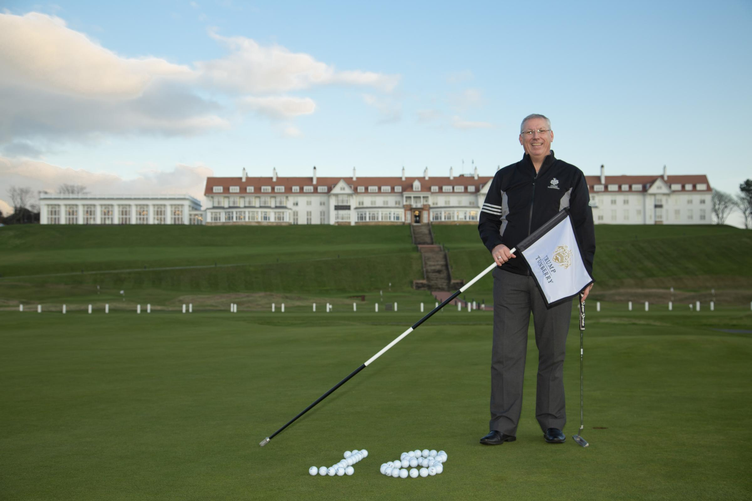 A quick 18 with Trump Turnberry's Director of Golf, Ricky Hall