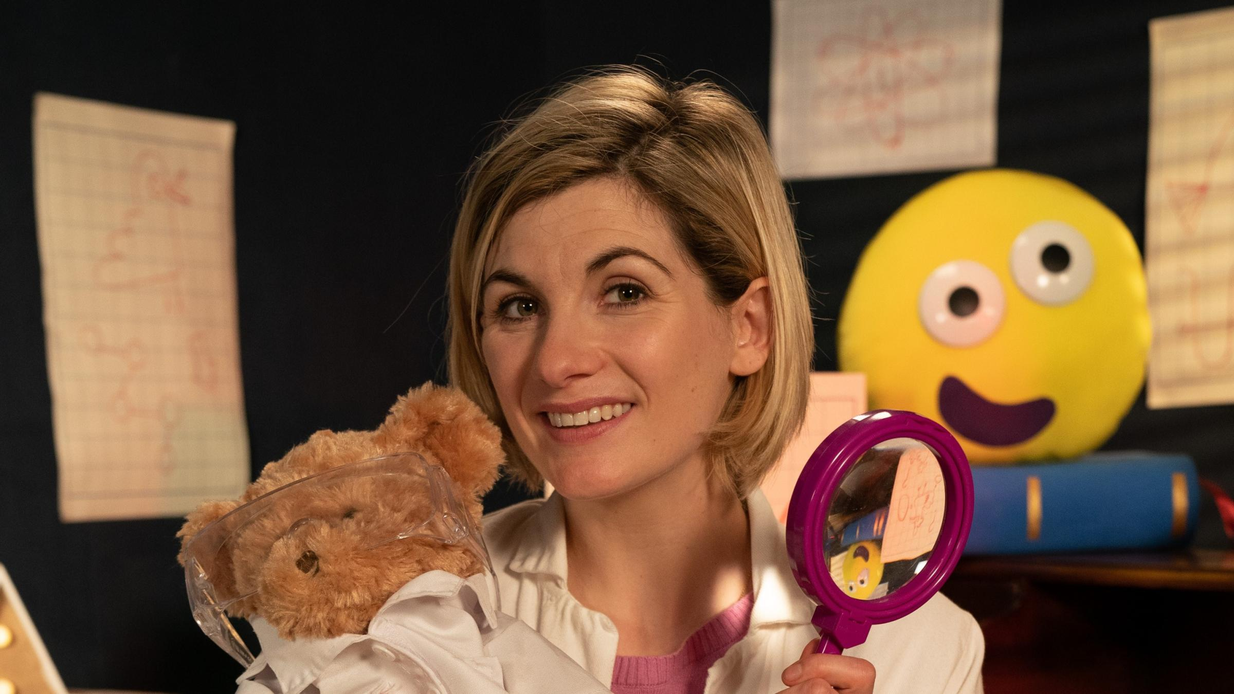 Jodie Whittaker time travels to pre-school dimension for CBeebies bedtime story