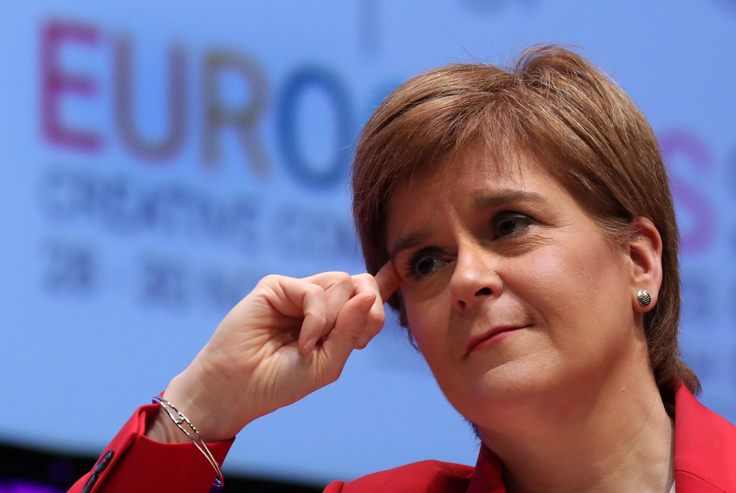 First Minister Nicola Sturgeon has said that Brexit was making the case for Scottish independence. Photograph: Andrew Milligan/PA Wire.