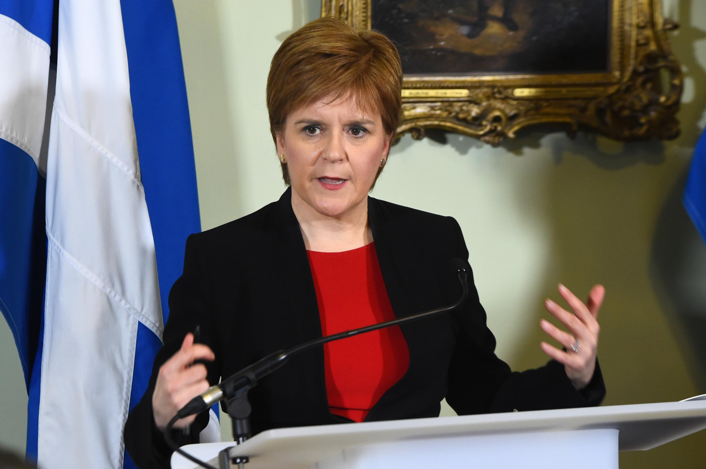 Nicola Sturgeon: Scotland 'should be a driving force within the EU'