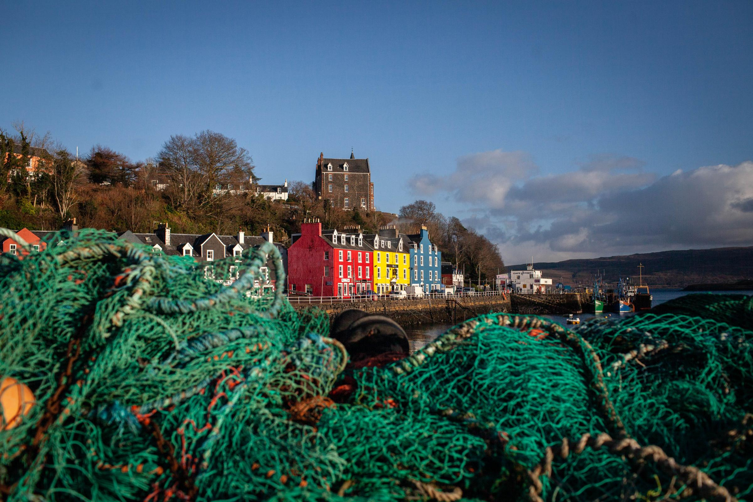 Tobermory Harbour, Isle of Mull. Picture: Elaine Livingstone