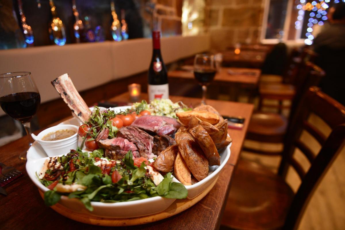 Mini Grill Steakhouse Bath Street Glasgow Restaurant Review By Ron Mackenna