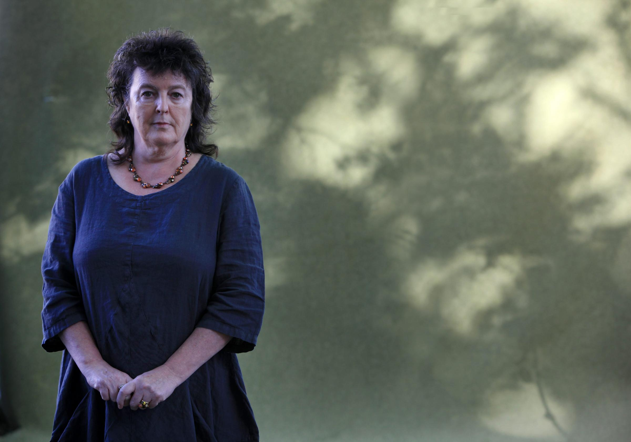 Author Carol Ann Duffy pictured on the opening day of the Edinburgh Book Festival 9/8/14.