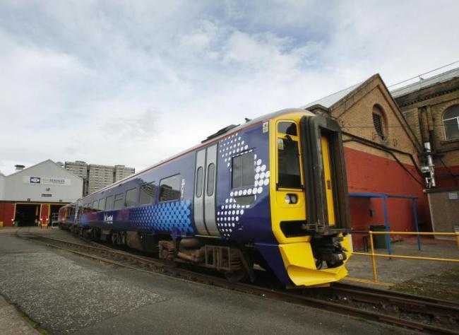 Closure of historic Glasgow rail repair plant with 180 jobs