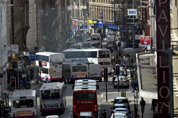 Glasgow's Low Emissions Zone comes into force this month.