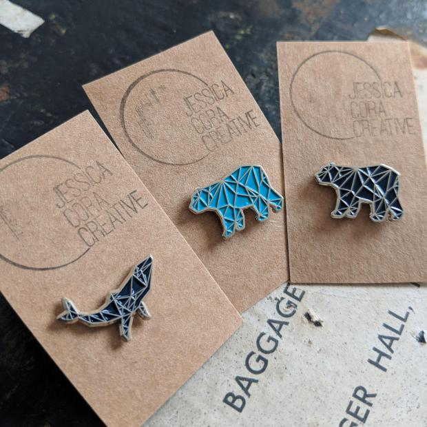 HeraldScotland: Gifts Animal Pin Ayrshire