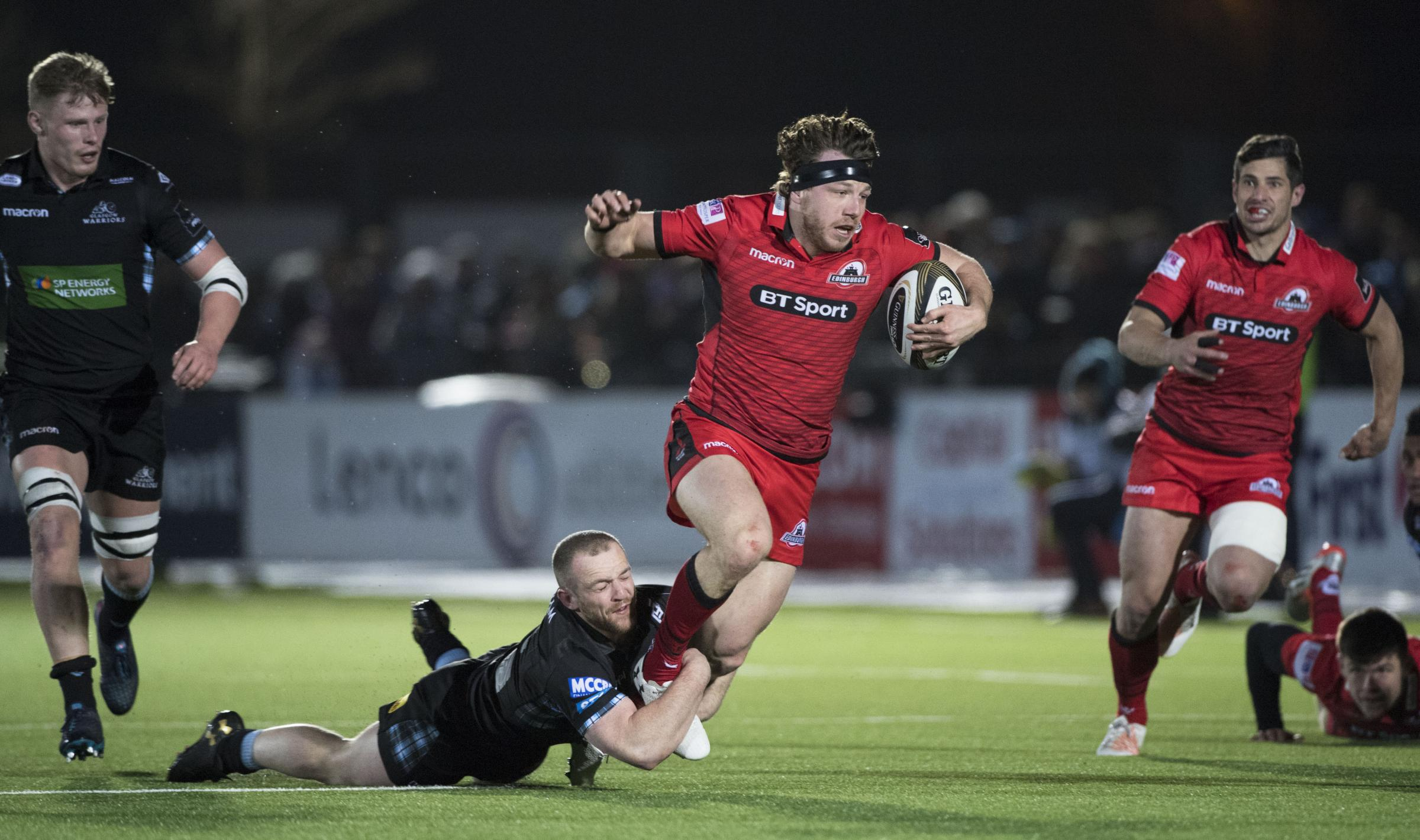 Edinburgh's Hamish Watson in an 1872 Cup encounter last year