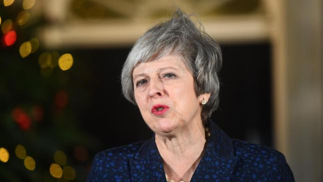 May launches stinging attack on Blair over referendum call