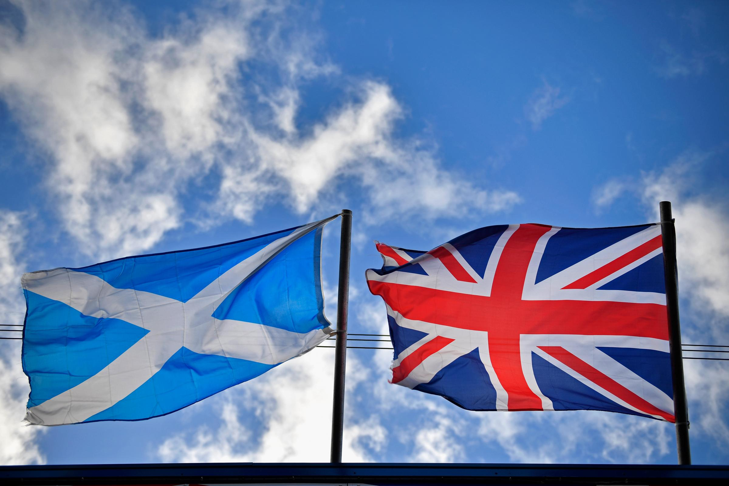 Flag expert: 'The use of the Union Jack has never been so positive in Scotland'