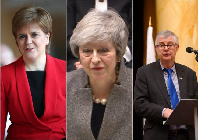 Theresa May to urge devolved administrations to