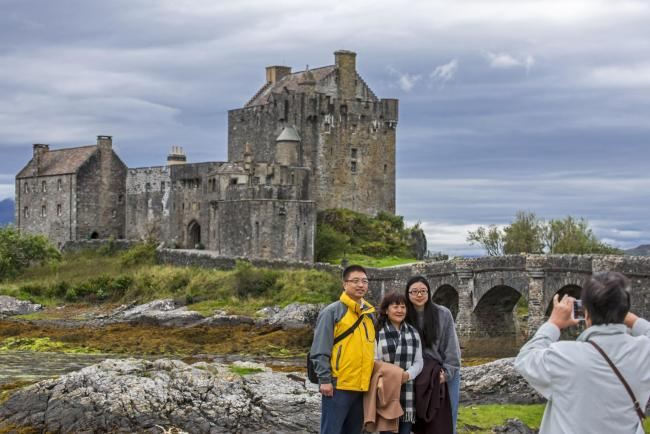 castle survives to become the most photographed in the highlands