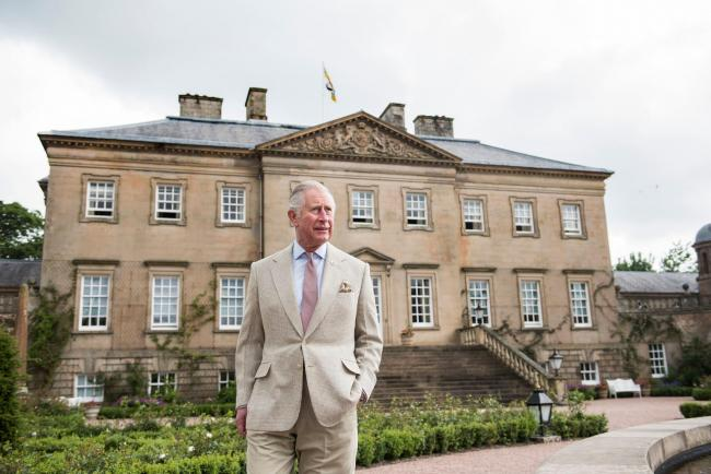 The Duke of Rothesay at Dumfries House.