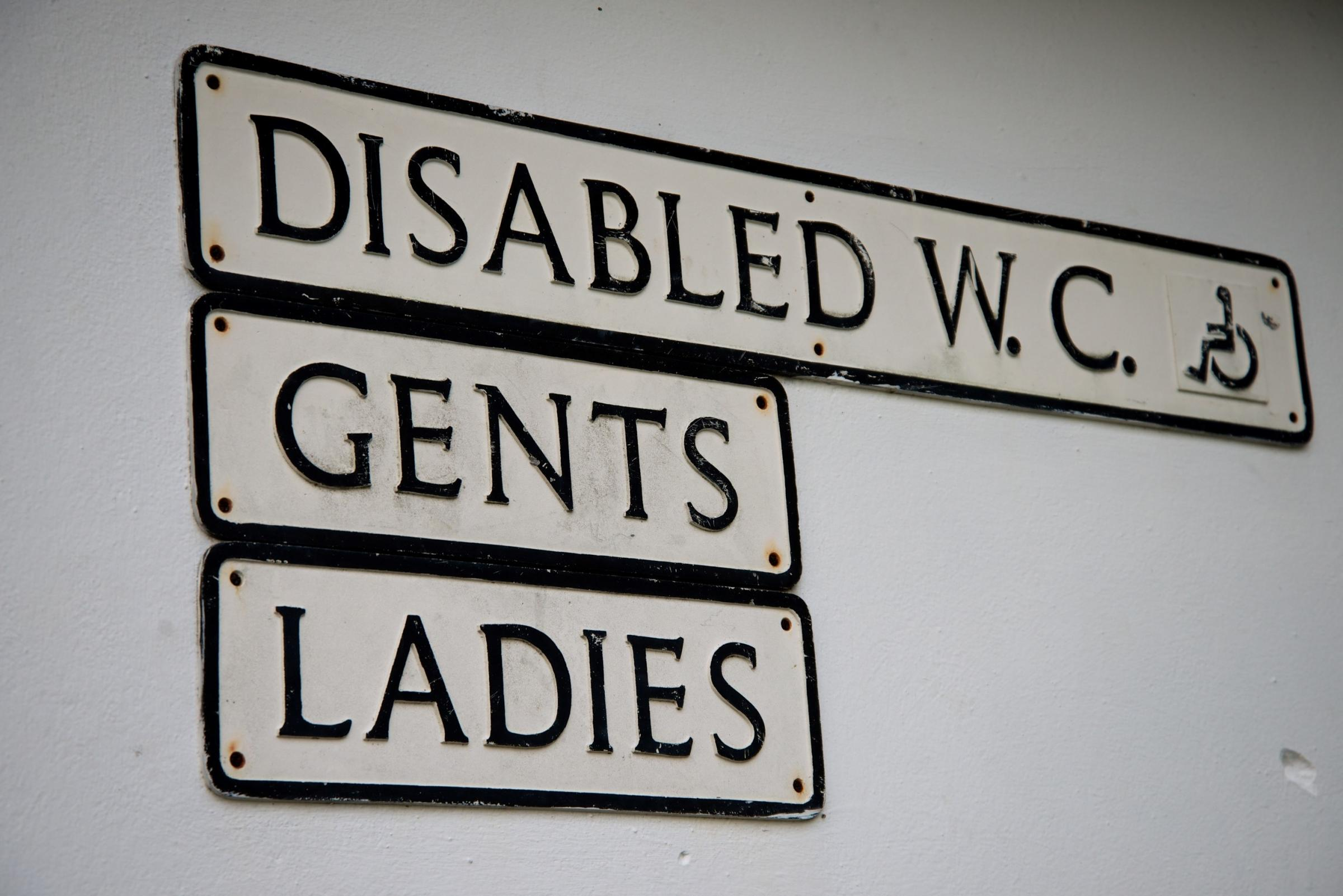 Public toilets are a necessity for the very young, elderly and disabled